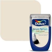 Dulux One coat Natural calico Matt Emulsion paint 30ml Tester pot.