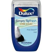 Dulux One coat First dawn Matt Emulsion paint 30ml Tester pot.