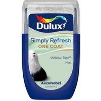 Dulux One coat Willow tree Matt Emulsion paint 30ml Tester pot.