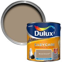 Dulux EasyCare Brave Ground Matt Emulsion paint 2.5L.