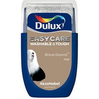 Dulux Easycare Brave Ground Matt Emulsion paint 30ml Tester pot.