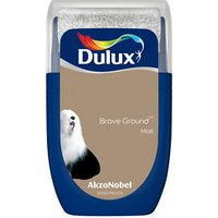 Dulux Brave ground Matt Emulsion paint 30ml Tester pot.