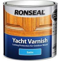 Ronseal Clear Satin Wood varnish  1L