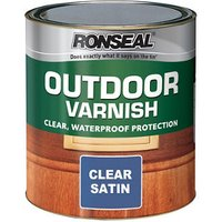 Ronseal Satin Wood varnish  0.75L