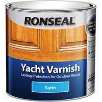 Ronseal Clear Satin Wood varnish  2.5L
