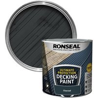 Ronseal Ultimate protection Matt charcoal Decking paint  2.5L