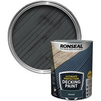 Ronseal Ultimate protection Matt charcoal Decking paint  5L