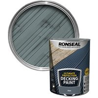 Ronseal Ultimate protection Matt slate Decking paint  5L
