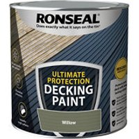 Ronseal Ultimate protection Matt willow Decking paint  2.5L