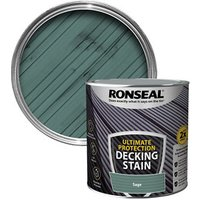 Ronseal Ultimate protection Sage Matt Decking Wood stain  2.5L