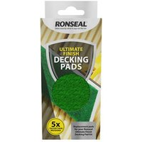 Ronseal Ultimate finish Decking paint pad refill  Set of 2