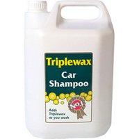 CarPlan Triplewax Car shampoo 5L Bottle.