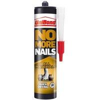 UniBond No more nails Solvent-free White Grab adhesive 390ml.