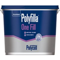 Polycell Polyfilla one fill White Ready mixed Filler.