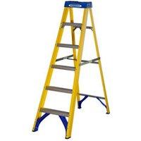 Werner 6 tread Fibreglass Step Ladder (H)1.67m.
