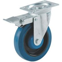 Select Braked Heavy duty Swivel Castor (Dia)100mm (Max. Weight)120kg.