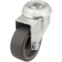 Unbraked Light duty Swivel Castor (Dia)50.2mm (Max. Weight)30kg.
