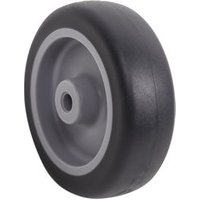 Fixed Thermoplastic rubber (TPR) Wheel (Dia)76.3mm.