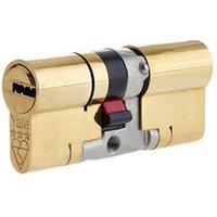 Yale Platinum Brass Single Euro Cylinder lock (L)100mm