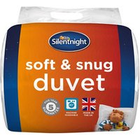 Silentnight 13.5 tog Soft and Snug Single Duvet