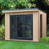 Save on this Forest Garden Xtend+ 10x9 Pent Tongue & groove Cabin - Assembly service included
