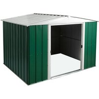Arrow Greenvale 10x8 Apex Metal Shed