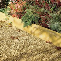 Contemporary Double sided Buff Paving edging (H)150mm (W)600