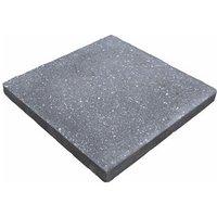 Panache ground Midnight grey Paving slab (L)450mm (W)450mm
