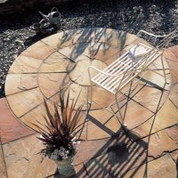 Natural sandstone Sunset buff Paving set 4.75m²  Pack of 25