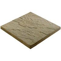 Derbyshire Moorland cream Paving slab (L)450mm (W)450mm