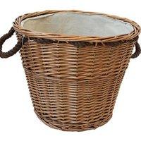 Slemcka Contemporary Log basket (D)440mm.