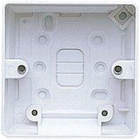 MK 40mm Single Pattress box.