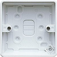 MK 30mm Single Pattress box.
