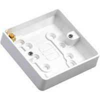 MK 16mm Single Pattress box.