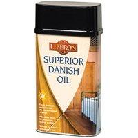Liberon Superior Clear Satin Danish Wood oil  1L