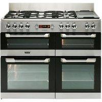 Leisure Cuisinemaster CS110F722X Freestanding Dual fuel Range cooker with Gas Hob