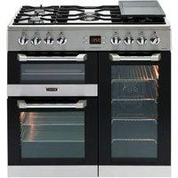 Leisure Cuisinemaster CS90F530X Freestanding Dual fuel Range cooker with Gas Hob