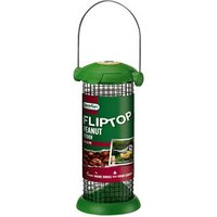 Westland Flip Top Plastic and steel Peanut Bird feeder