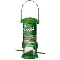 Westland Flip Top Plastic and steel Seed Bird feeder