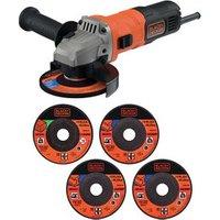 Black & Decker 710W Corded Angle grinder.
