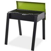 Kembla Black and green Charcoal Barbecue