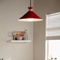 Apennin Matt Red Pendant ceiling light