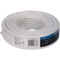 Tristar White Coaxial cable 25m.