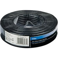 Tristar Black Coaxial cable 25m.
