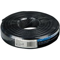 Tristar Black Coaxial cable 50m.