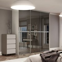 Minimalist Sliding Wardrobe Door (H)2480mm (W)1200mm