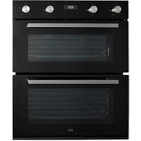 Cooke and Lewis CLBUDO89 Black Built-in Electric Double Oven