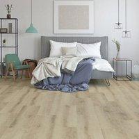 GoodHome Ledbury Light brown Oak effect Laminate Flooring  1.8m² Pack