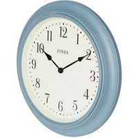 Jones Supper club Contemporary Old boat blue Clock.