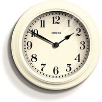 Jones Opers Linen white Clock.
